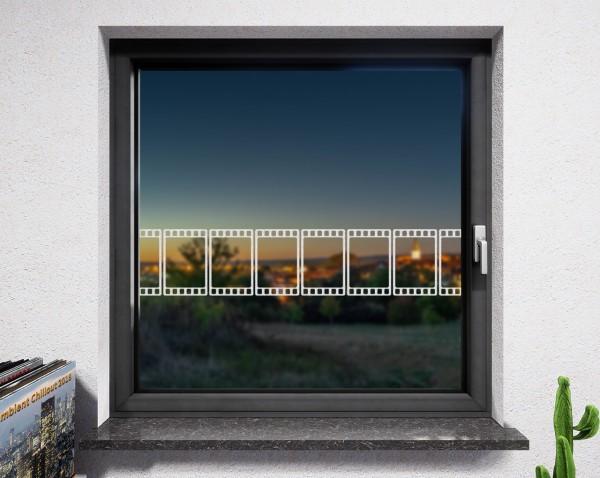 Fenstertattoo, Filmstreifen
