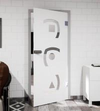 Glasdekor für Türen, Dreierlei