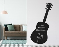 Tafelfolie, Gitarre