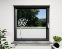 Glasdekor für Fenster, Pusteblume