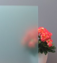 Sichtschutzfolie, Sandstrahldesign mint matt
