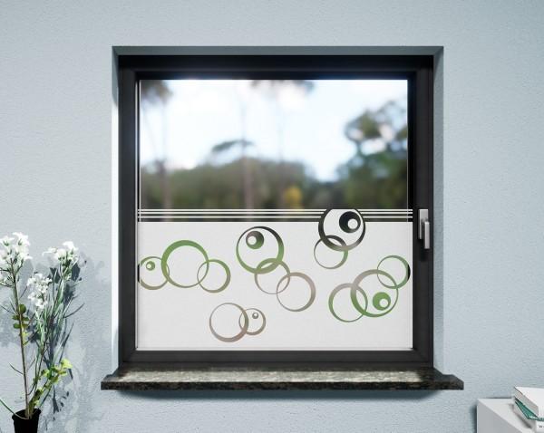 Glasdekor für Fenster, Bubbleeyes