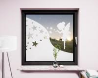 Glasdekor für Fenster, Fee