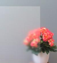 Sichtschutzfolie, Frostglasdesign weiß matt