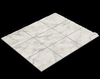 Fliesenfolie, weißer Marmor, Bianco Carrara