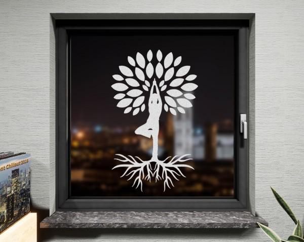 Fenstertattoo, Yogabaum
