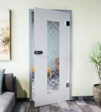 Glasdekor für Türen, Lichtblick
