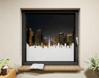 Glasdekor für Fenster, Skyline Dubai