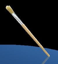 Nölle Profi-Brush Emaillelack Pinsel Gr.1 Breite 11mm