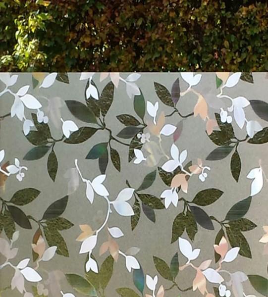 Adhäsionsfolie, transparente u. geprägte Blätter