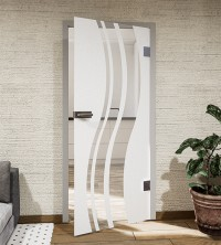 Glasdekor für Türen, Carving