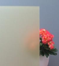 Sichtschutzfolie, Sandstrahldesign crème matt