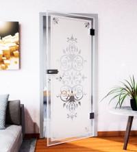Glasdekor für Türen, Jugendstil