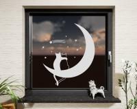 Fenstertattoo, Mondkatzen