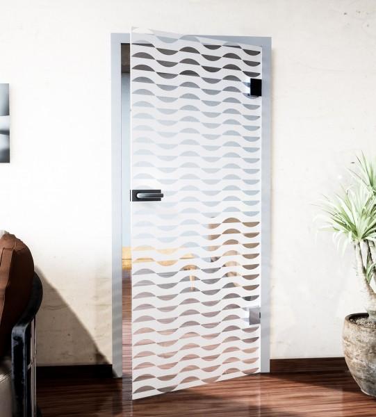 Glasdekor für Türen, Scherenschnitt