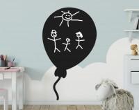 Tafelfolie, Luftballon