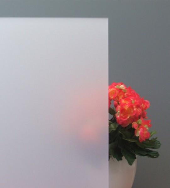 Milchglasfolie - Sichtschutzfolie, weiß matt