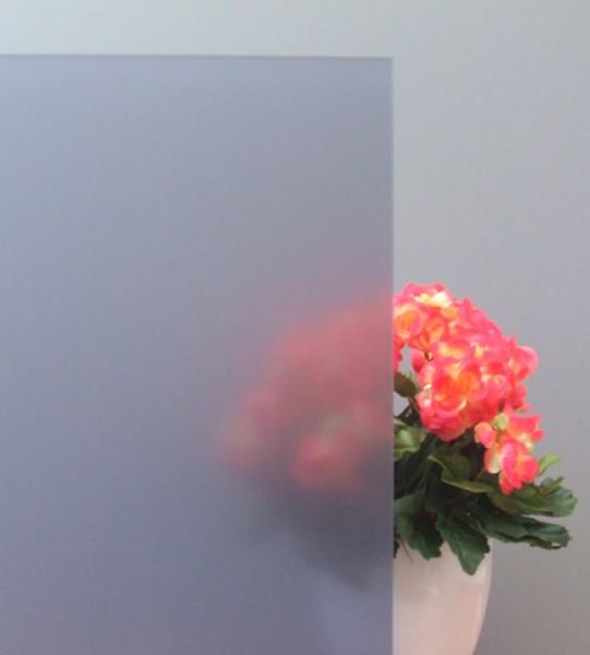 Sichtschutzfolie, grau matt