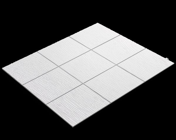 Fliesenfolie, weißes Holz