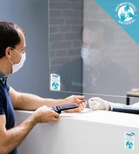 Antibakterielle Folie, Hexis PUREZONE®, klar durchsichtig