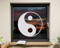 Fenstertattoo, YinYang