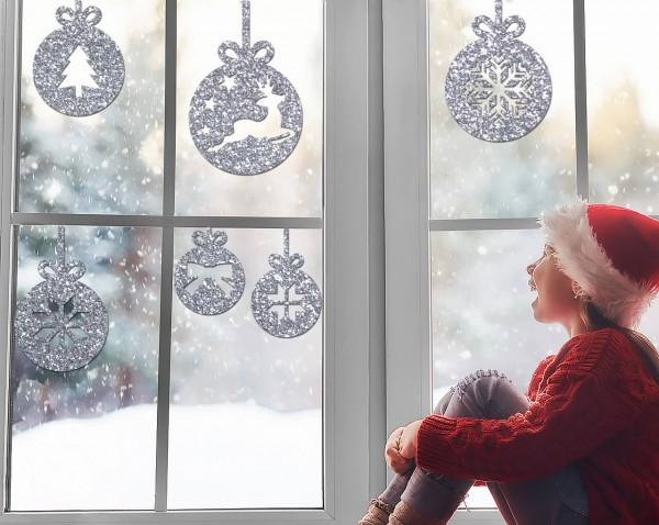 Weihnachtskugeln (6er Set)