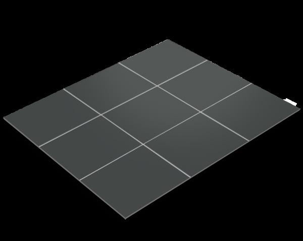 Fliesenfolie, Basaltgrau