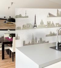 Adhäsionsfolie, Pariser Skyline