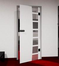 Glasdekor für Türen, Filmrolle