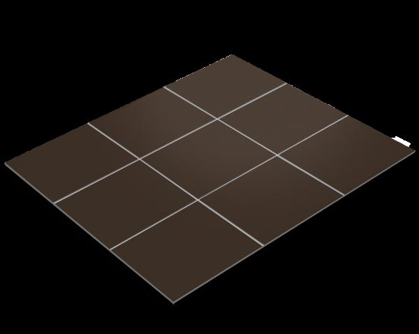 Fliesenfolie, Schokoladenbraun