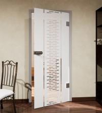 Glasdekor für Türen, Reißverschluss