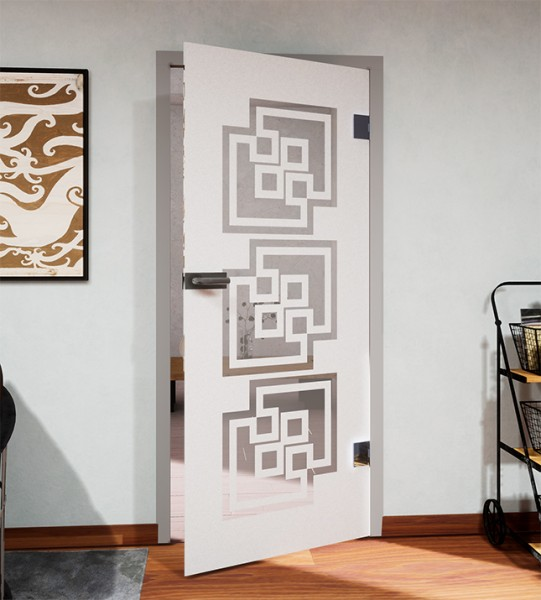 Glasdekor für Türen, Sokoban