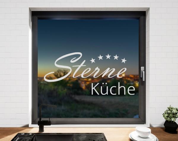 Fenstertattoo, Sterneküche