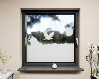 Glasdekor für Fenster, Berge