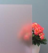 Sichtschutzfolie, Sandstrahldesign rosé matt