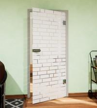 Glasdekor für Türen, Mauer