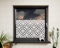 Glasdekor für Fenster, Mandala