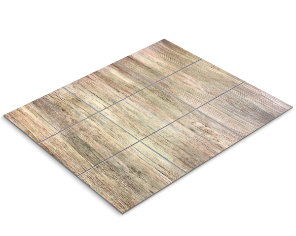 Fliesenfolie, vintage Holz