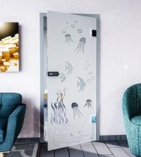 Glasdekor für Türen, Tiefsee
