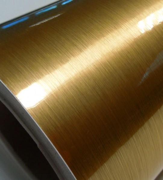 Goldfolie, matt gebürstet